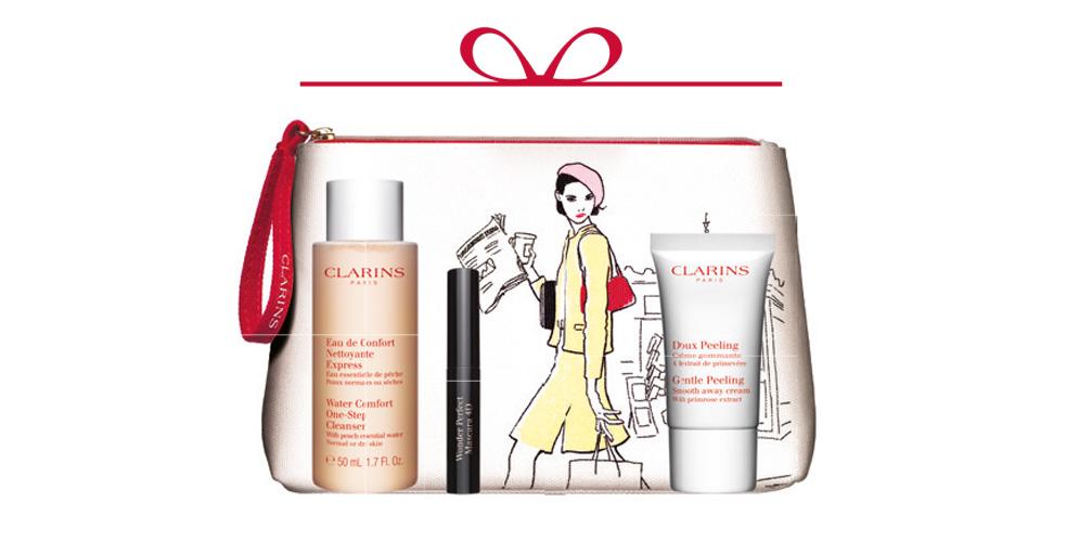 Clarins-Promotion Geschenk